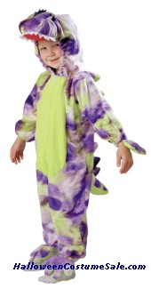 Dinosaur Child Costume (With Polka Dots)