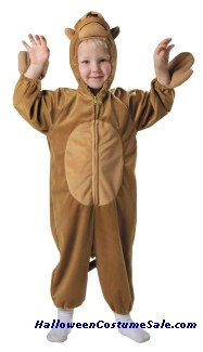 Monkey Plush Child Costume (With Tail)