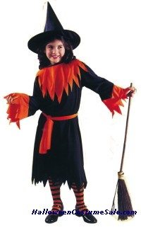 WENDY THE WITCH CHILD COSTUME