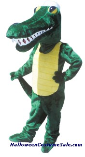 GATOR MASCOT ADULT COSTUME - AS PICTURED