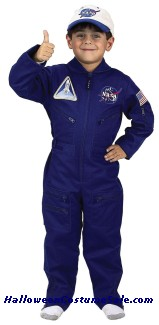 FLIGHT SUIT CHILD COSTUME - W/ CAP