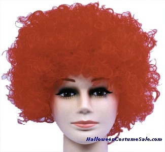 CURLY CLOWN WIG