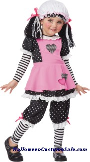 RAG DOLLY CHILD COSTUME