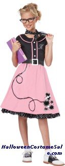 50S SWEETHEART CHILD COSTUME