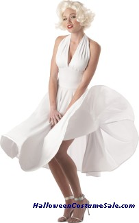 MARILYN SEXY WOMEN ADULT COSTUME