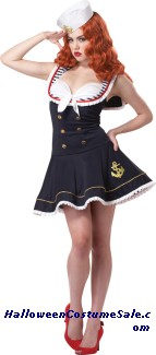 NAUTICAL DOLL WOMEN ADULT COSTUME