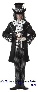 DARK MAD HATTER MEN ADULT COSTUME