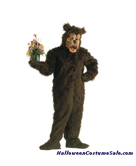 CRAZY CRITTERZ - ADULT BARLTON BEAR COSTUME
