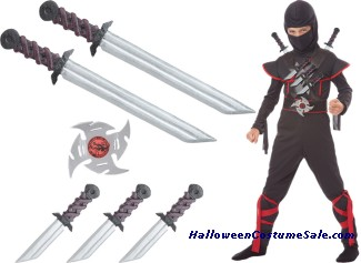 STEALTH NINJA BELT SET