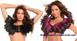 FEATHER TOP  ADULT COSTUME