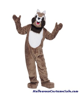 CHIPMUNK MASCOT ADULT COMPLETE COSTUME