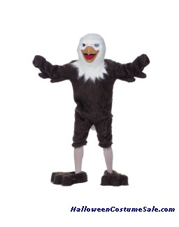 EAGLE MASCOT ADULT COMPLETE COSTUME