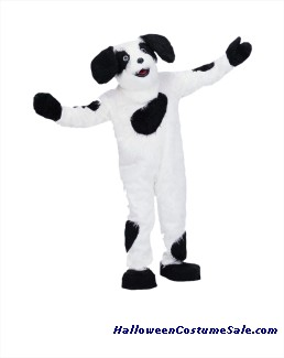 SHEEP DOG MASCOT ADULT COMPLETE COSTUME