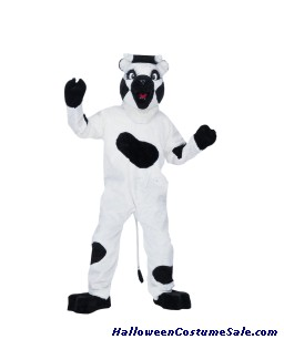 COW MASCOT ADULT COMPLETE COSTUME