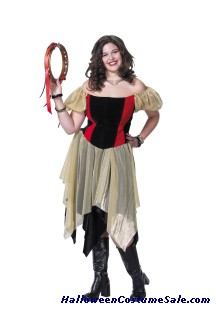 GYPSY ADULT COSTUME - PLUS SIZE