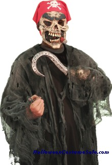 PIRATE GHOUL TEEN COSTUME