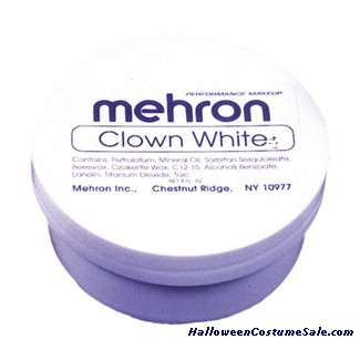 CLOWN WHITE - 8 OZ