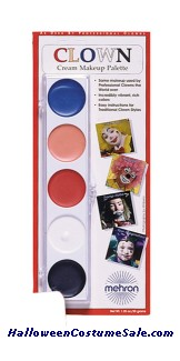 CLOWN COLOR PALETTE - CARDED