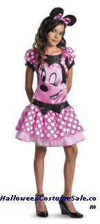 MINNIE MOUSE CHILD COSTUME - PLUS SIZE