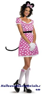 SASSY MINNIE MOUSE ADULT COSTUME