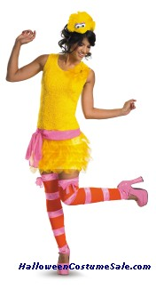 SASSY FEMALE BIG BIRD ADULT COSTUME