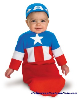 CAPTAIN AMERICA INFANT COSTUME