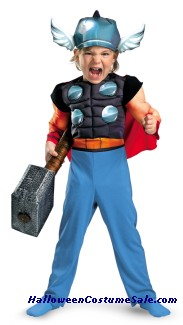 THOR MUSCLE COSTUME CHILD COSTUME