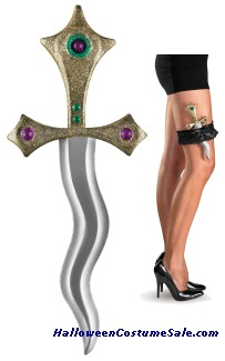 SHE DAGGER WITH GARTER
