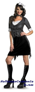 JACK SKELLINGTON SASSY ADULT COSTUME