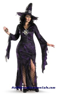 SORCERESS PLUS SIZE COSTUME