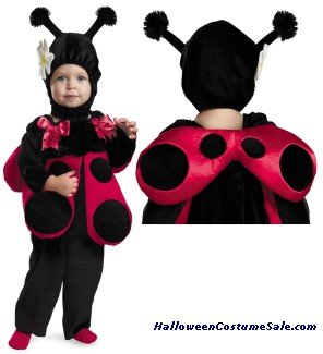 HUGGABLE LADYBUG INFANT COSTUME