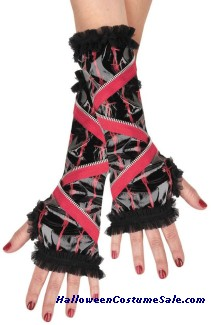ZIPPER GLOVETTES - CHILD SIZE