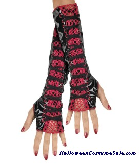 LACE UP GLOVETTES - ADULT SIZE
