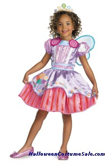 DELUXE CANDYLAND GIRL TODDLER COSTUME