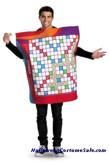 DELUXE SCRABBLE ADULT COSTUME