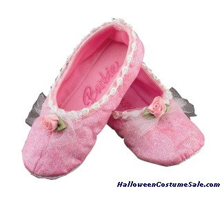 BARBIE BALLET SLIPPERS - CHILD SIZE