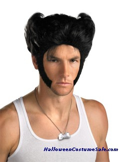 WOLVERINE WIG WITH ACCCESSORY