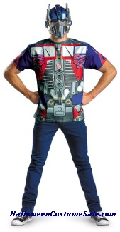 OPTIMUS PRIME ALTERNATIVE COSTUME PLUS SIZE