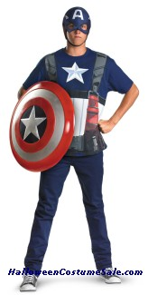 CAPTAIN AMERICA MOVE ALTERNATIVE COSTUME PLUS SIZE