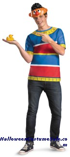 ERNIE ALTERNATIVE COSTUME PLUS SIZE