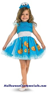 COOKIE MONSTER FRILLY CHILD COSTUME