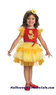 FRILLY WINNIE THE POOH CHILD/TODDLER  COSTUME
