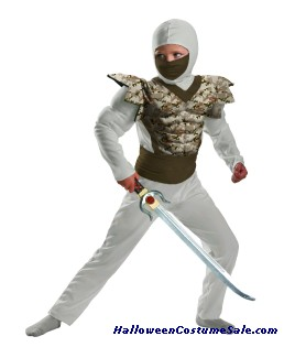 DESERT CAMO NINJA CHILD COSTUME