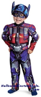 OPTIMUS MUSCLE TODDLER COSTUME
