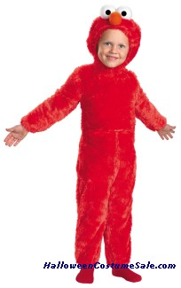 SESAME STREET ELMO TODDLER COSTUME
