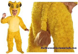 LION KING SIMBA DELUXE CHILD/TODDLER COSTUME