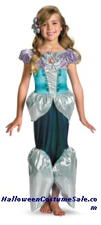 ARIEL LAME DELUXE CHILD COSTUME