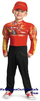 LIGHTENING MCQUEEN MUSCLE CHILD COSTUME