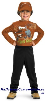 TOW MATER BASIC CHILD COSTUME