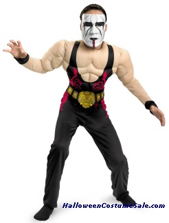STING MUSCLE CHILD COSTUME
